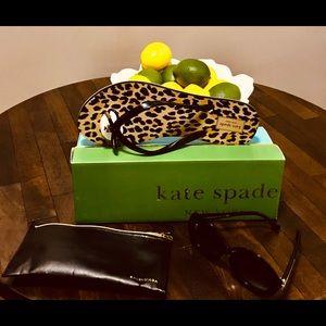 Kate Spade New York NOVA Leopard Flip Flops